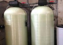 锅炉软水器,锅炉万博体育manbetx3.0装置,离子交换器,锅炉万博体育manbetx3.0ManBetX客户端10吨/每小时-康津KJ-KF-E2-900(美国富莱克控制阀2850#6)