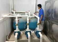 泳池水净化+恒压供水系统