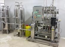 宣宝豆奶厂 每小时3吨净水ManBetX客户端, 反渗透ManBetX客户端直饮水ManBetX客户端