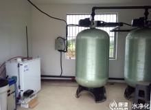 农村井水净化工程,每小时10-15吨净化ManBetX客户端及消毒ManBetX客户端
