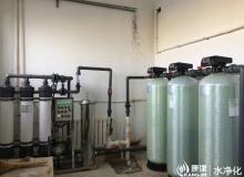 井水净化系统,超滤净化ManBetX客户端.每小时5吨净水ManBetX客户端