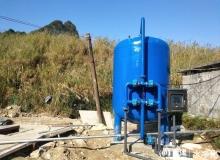 压力式净水ManBetX客户端 农村饮水净水工程