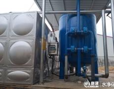 压力式一体式净水器,石英砂过滤器 全自动压力式净水器