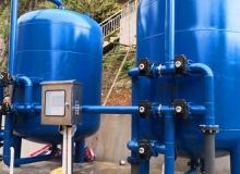 广西河池市 金城江河水净化ManBetX客户端-压力式一体式净水ManBetX客户端